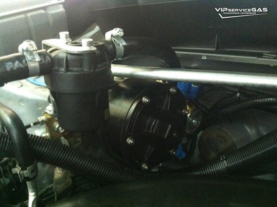 Газ на Subaru Forester Prins VSI 1