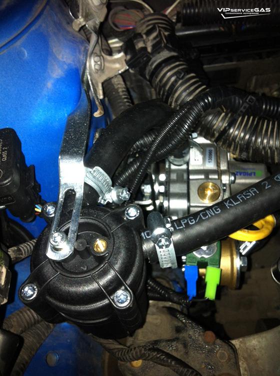 Газ на Peugeot 107