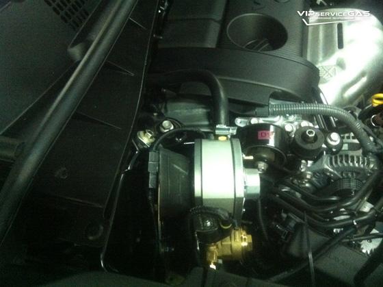 Гбо на Toyota Highlander 2.7