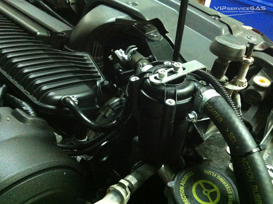 установка гбо на Форд Куга 2.5 турбо