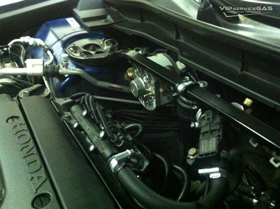 Установка гбо на Хонда Аккорд 2.0