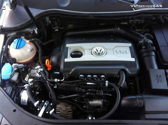 Гбо на Volkswagen Passat B6