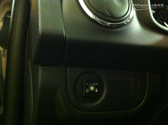 Газобаллонное оборудование на Dacia