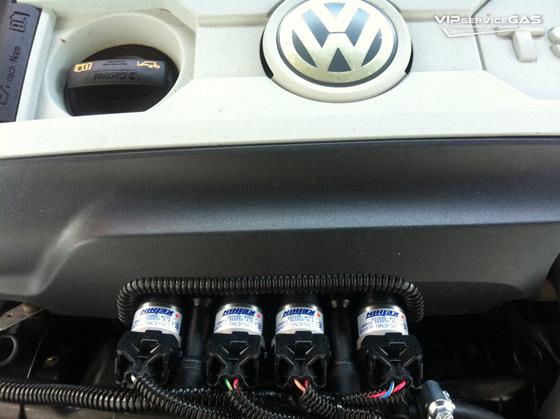 Газ на Volkswagen Passat B6