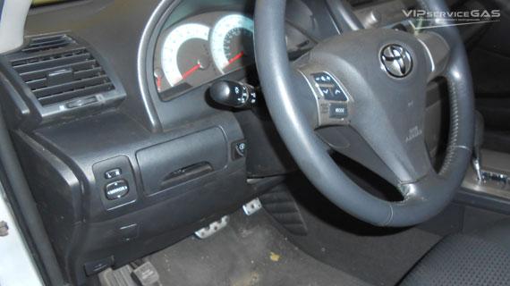 Гбо на Toyota Camry 2007