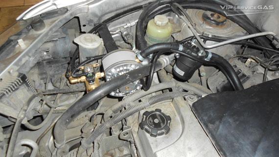 Установка гбо на Mitsubishi Outlander 2003