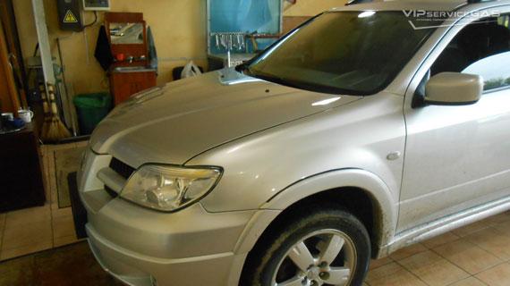 Газ на Mitsubishi Outlander 2003