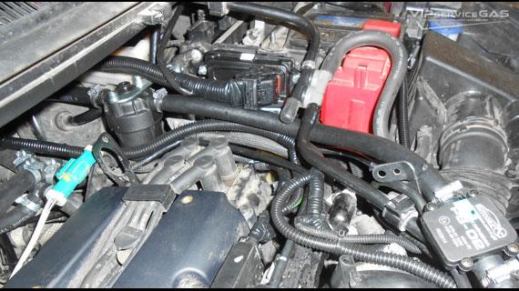 Газ на Ford Fiesta