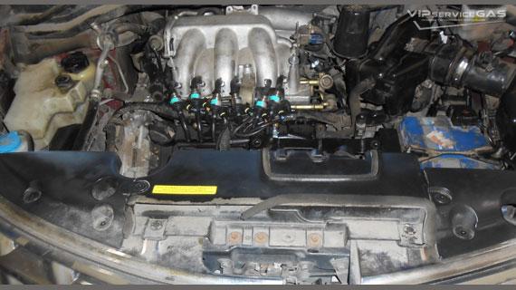 Установка гбо на Nissan Murano 2003