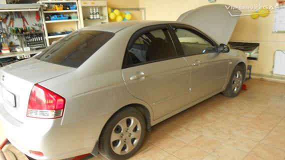 Установка гбо на Kia Cerato 2007