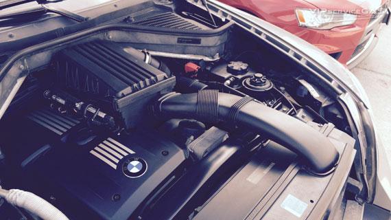 Газ на BMW X5 3.0 2008