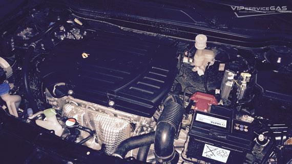 Газ на Suzuki SX4