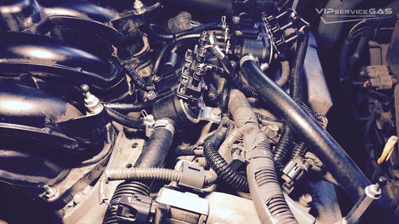 Газ на Lexus RX 350 2014