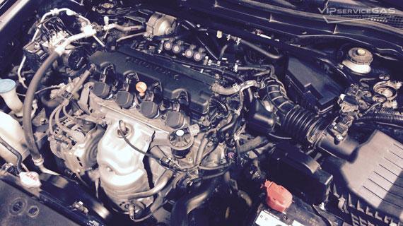 Газ на Хонда Аккорд