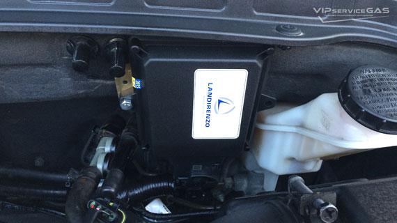 Гбо на Hyundai Santa Fe 2.4 2014