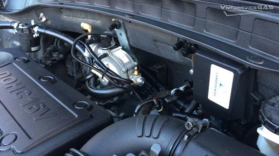 Газ на Hyundai Santa Fe 2.4 2014