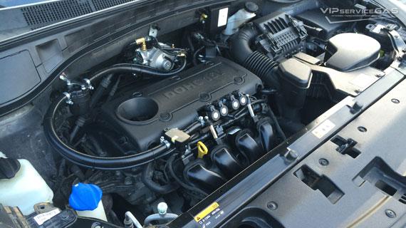 Газ на Hyundai Santa Fe 2.4