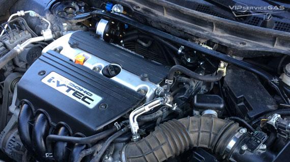 Установка гбо на Honda Accord 2.4 2012