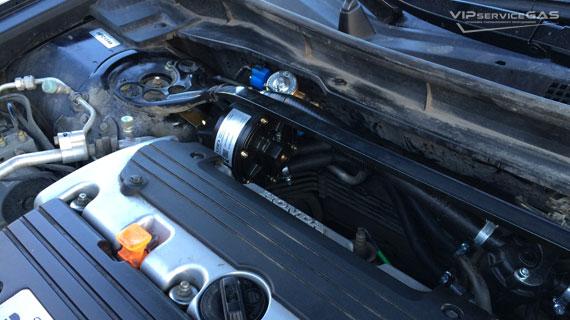 Гбо на Honda Accord 2.4 2012