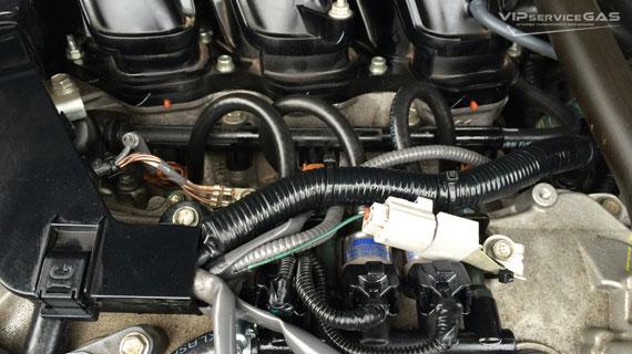 Газ на Toyota Highlander 3.5