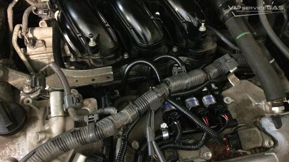 Установка гбо на Lexus RX 350