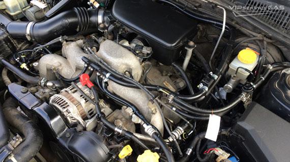 Установка гбо на Subaru Legacy Outback