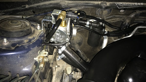 Гбо на Subaru Forester 2.5 2014