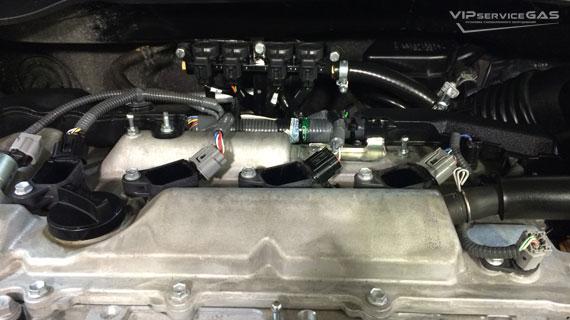Установка гбо на Toyota Camry 2.5 2014