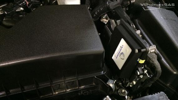 Газ на Toyota Camry 2.5