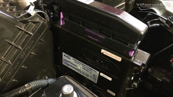 Установка гбо на Toyota RAV4 2014