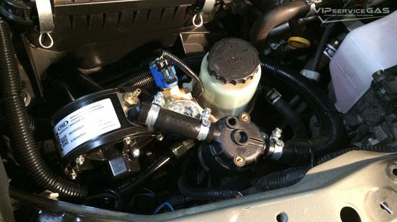 Газ на Lexus LX 570