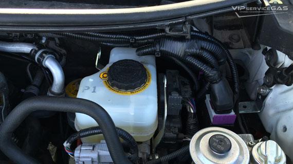 Установка гбо на Toyota Land Cruiser Prado 150 3.0