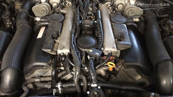 Гбо на Volkswagen Touareg V10 5.0