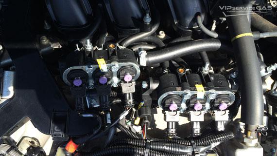 Газ на Toyota Highlander 3.5 - 2013