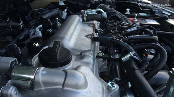 Газ на Toyota Corolla 1.33 2015