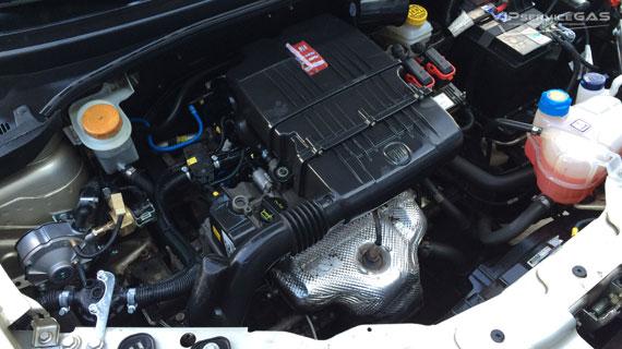 Газобаллонное оборудование на Fiat Linea