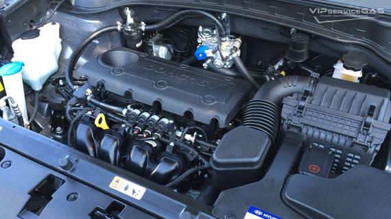 Установка гбо на Hyundai Santa Fe