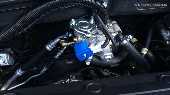 Газ на Hyundai Santa Fe