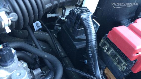 Установка гбо на Nissan Juke 1.6