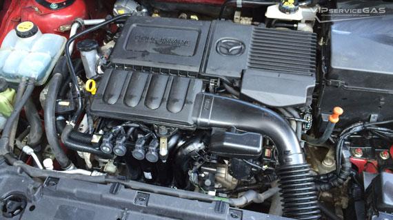 Установка гбо на Mazda 3 Skyactiv