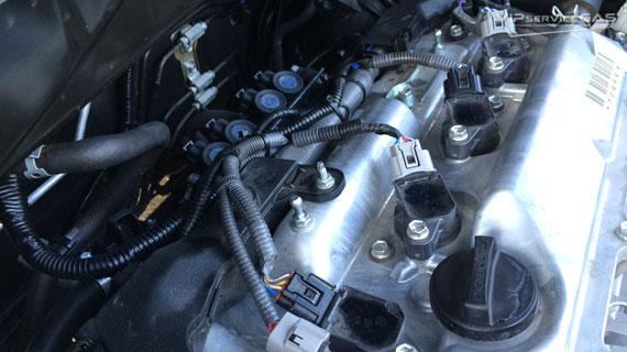 Установка гбо на Toyota Highlander 2.7