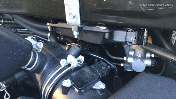 Газ на Toyota Highlander 2.7