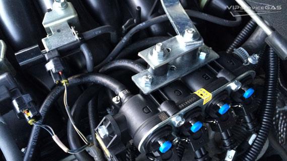 Гбо на Lexus LX570