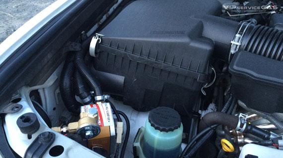 Газ на Lexus LX570 V8