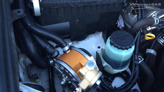 Гбо на Lexus LX570 V8