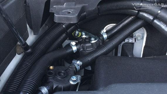 Установка гбо на Lexus LX570 V8