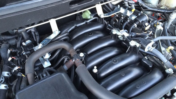 газ на Lexus LX570 V8 5.7