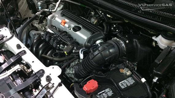 Газ на Хонда СР-В