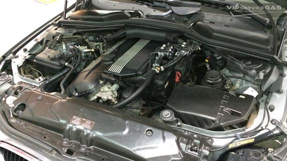 Газ на BMW e60 530i