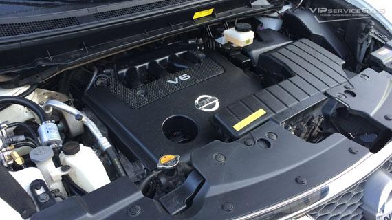 Гбо на Nissan Murano 3.5